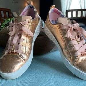 "PRICE DROP!!! Ted Baker Rose Gold ""converse"""